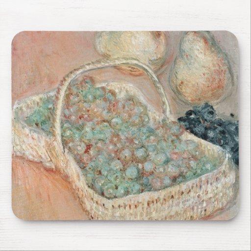 La cesta de uvas, 1884 tapetes de raton