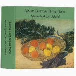 La cesta de Vincent van Gogh de la fruta y de los