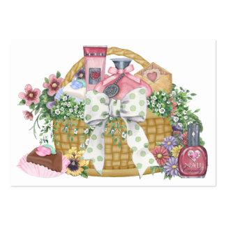 La cesta del regalo - SRF Plantilla De Tarjeta Personal