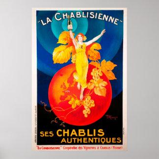 La Chabilsienne del vintage Póster