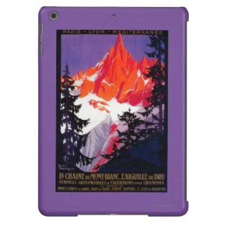 La Chaine De Mont-Blanc Vintage PosterEurope Case For iPad Air