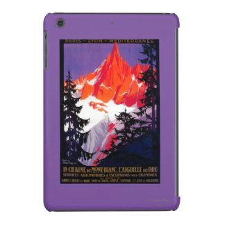 La Chaine De Mont-Blanc Vintage PosterEurope iPad Mini Cover