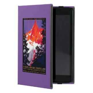 La Chaine De Mont-Blanc Vintage PosterEurope iPad Mini Case