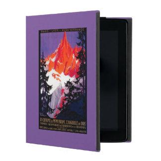 La Chaine De Mont-Blanc Vintage PosterEurope iPad Covers