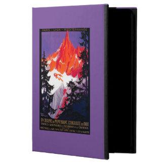 La Chaine De Mont-Blanc Vintage PosterEurope iPad Air Cases