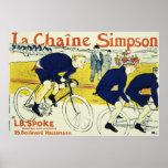 La Chaine Simpson de Enrique de Toulouse Posters