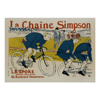 La Chaine Simpson Poster
