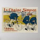 La Chaine Simpson Posters