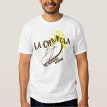 La Chancla The Travesura Stopper Funny Mexican Tee Shirt