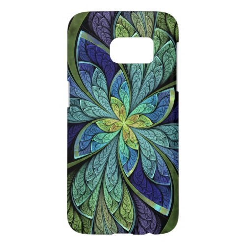 La Chanteuse IV Abstract Stained Glass Phone Case
