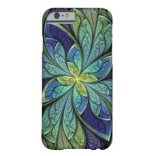 La Chanteuse IV Abstract Stained Glass Pattern Barely There iPhone 6 Case