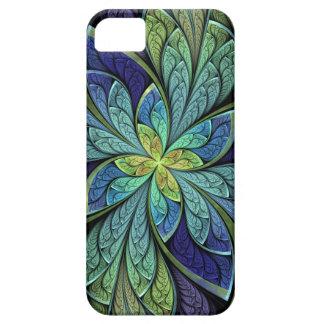 La Chanteuse IV extractos verdes y azules Funda Para iPhone SE/5/5s