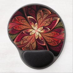 La Chanteuse Rouge Gel Mouse Pad at Zazzle
