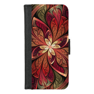 La Chanteuse Rouge iPhone 8/7 Wallet Case