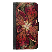 La Chanteuse Rouge Samsung Galaxy S6 Wallet Case