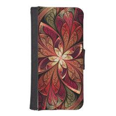 La Chanteuse Rouge Wallet Phone Case For iPhone SE/5/5s at Zazzle