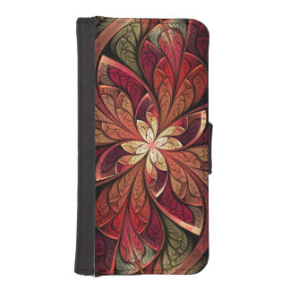 La Chanteuse Rouge Wallet Phone Case For iPhone SE/5/5s