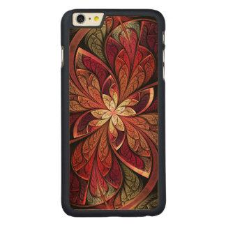 La Chanteuse Rouge Wood iPhone 6 Plus Case