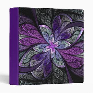 "La Chanteuse Violett 1"" Purple Binder"