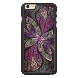 La Chanteuse Violett Carved Maple iPhone 6 Plus Slim Case
