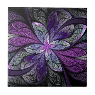 La Chanteuse Violett Ceramic Tile