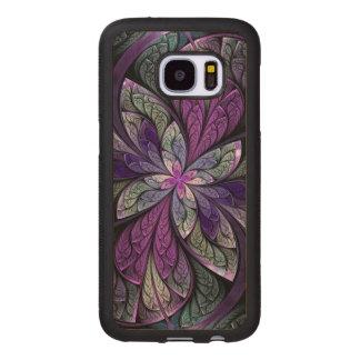 La Chanteuse Violett Fundas De Madera Para Samsung S7