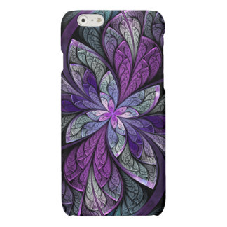 La Chanteuse Violett Glossy iPhone 6 Case