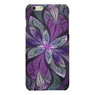 La Chanteuse Violett Glossy iPhone 6 Plus Case