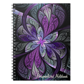 La Chanteuse Violett Personalized Notebook