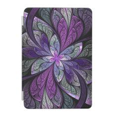 La Chanteuse Violett Purple Abstract Ipad Mini Cover at Zazzle
