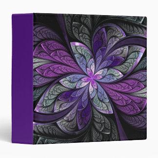 La Chanteuse Violett Purple Binder