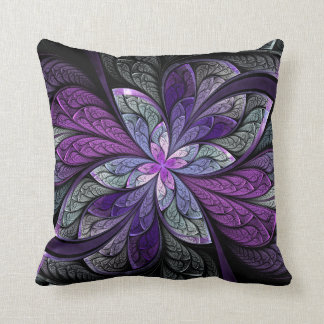 La Chanteuse Violett Square Throw Pillow