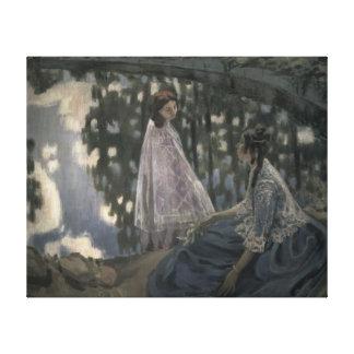 La charca, 1902 impresiones en lona estiradas