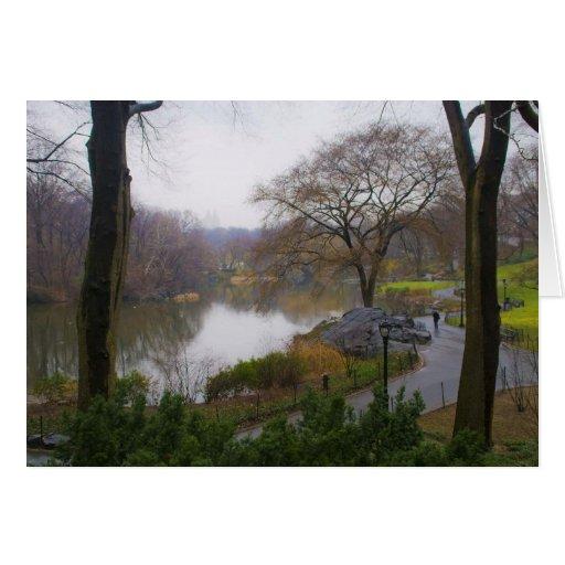 La charca (2) - Central Park NYC Felicitación