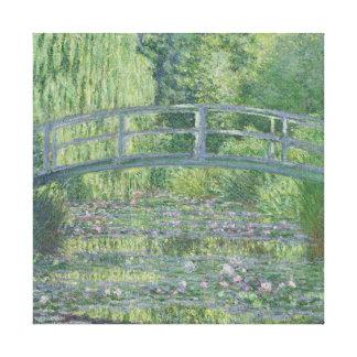 La charca de Waterlily: Armonía verde, 1899 Lona Estirada Galerias