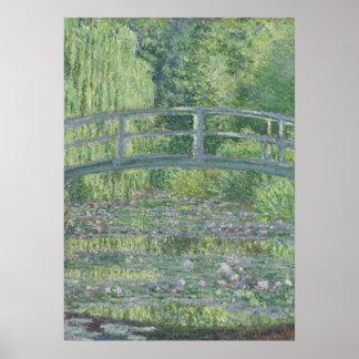 La charca de Waterlily Armonía verde 1899 Impresiones