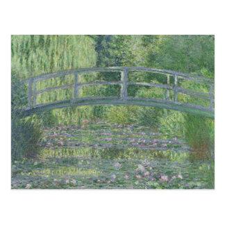 La charca de Waterlily: Armonía verde, 1899 Postal
