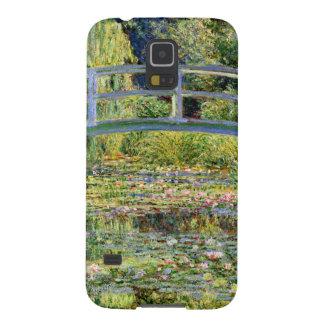 La charca del Agua-Lirio por la bella arte de Carcasas Para Galaxy S5
