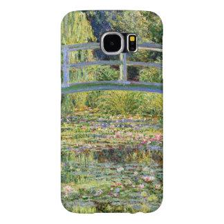 La charca del Agua-Lirio por la bella arte de Fundas Samsung Galaxy S6