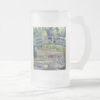 La charca del lirio de agua de Claude Monet Taza
