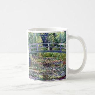 La charca del lirio de agua de Claude Monet Taza De Café