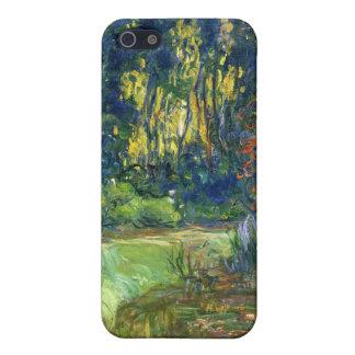 La charca del lirio de agua en Giverny - Claude Mo iPhone 5 Fundas