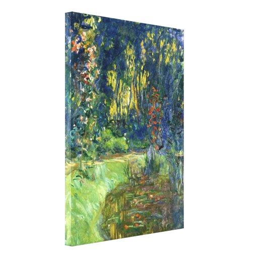 La charca del lirio de agua en Giverny - Claude Mo Impresiones En Lona
