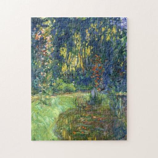 La charca del lirio de agua en Giverny - Claude Mo Puzzle