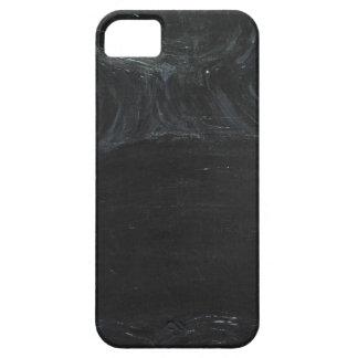 La charca negra (minimalism negro) iPhone 5 cobertura