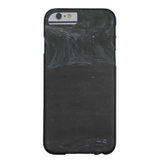 La charca negra (minimalism negro) funda para iPhone 6 barely there