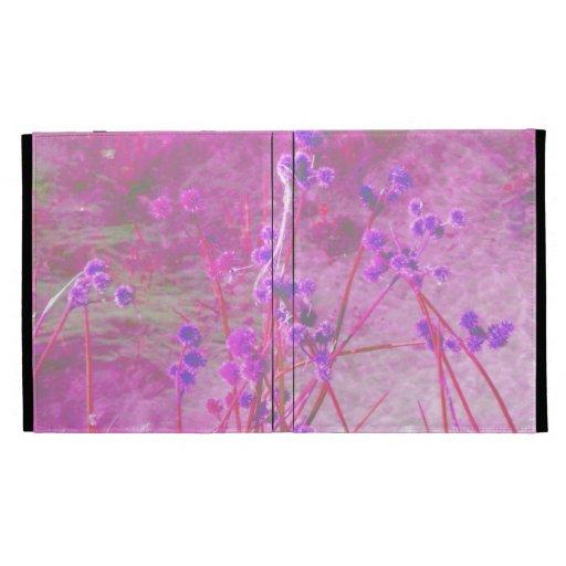 La charca púrpura planta el fondo