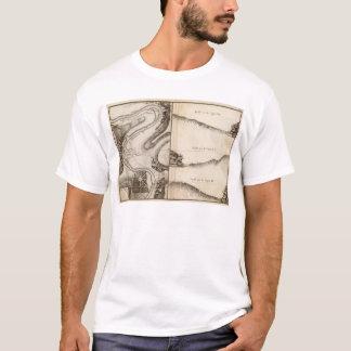 La Charente Atlas Map T-Shirt