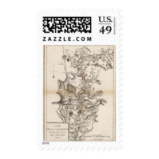 La Charente Postage Stamp