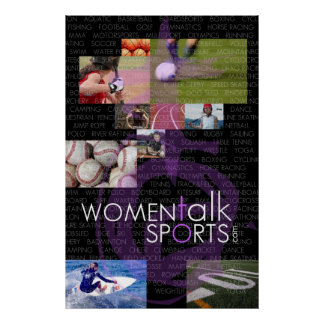 La charla de las mujeres se divierte el poster póster